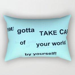 Fly:You Gotta Rectangular Pillow
