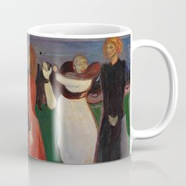 "Edvard Munch ""The Dance of Life"", 1899–1900 Coffee Mug"