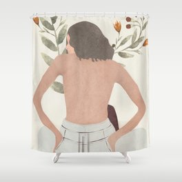 Female Beauty I Shower Curtain