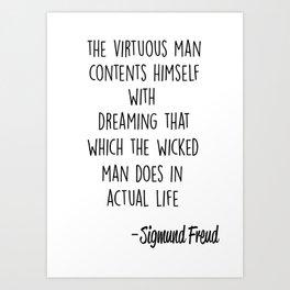 Freud _3 Art Print