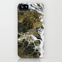 Team Splash, Black and Gold iPhone Case