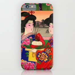 Two Geishas iPhone Case