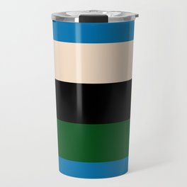 Color Stripe _003 Travel Mug
