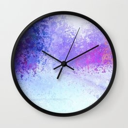 Trapped in Winter Neverend Wall Clock