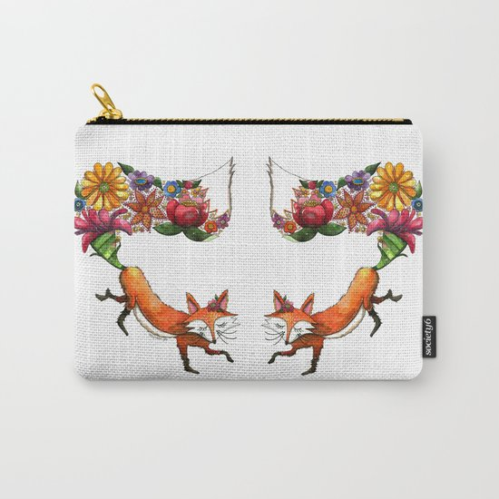 Hunt Flowers Not Foxes One Carry-All Pouch