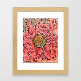 Solar S'plosion Framed Art Print