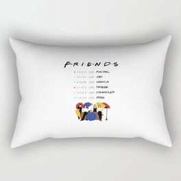 Friends will ll be there for you - tv show Rectangular Pillow