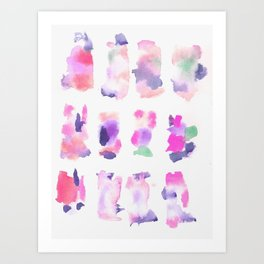 160122 Summer Sydney 2015-16 Watercolor #32 Art Print