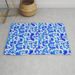 Exotic Garden - Blue Rug