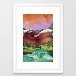 When I Dream Of You Framed Art Print