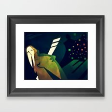 The Galumpt Framed Art Print