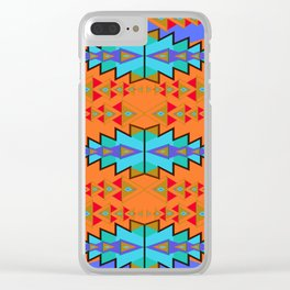 Indian Designs 270 Clear iPhone Case