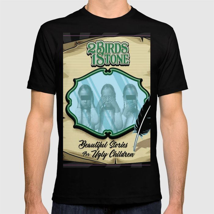 Beautiful Stories For Ugly Children Alt Cover T-shirt