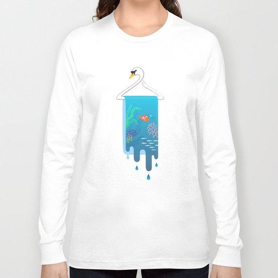 Swan Hanger Long Sleeve T-shirt