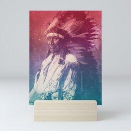 ROCKY BEAR SIOUX NATIVE AMERICAN Mini Art Print