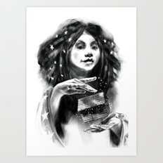 Glinda of Oz Art Print