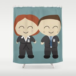 The X Kids Shower Curtain