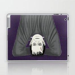 Frankenstein head stand Laptop & iPad Skin