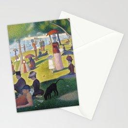 A Sunday on La Grande Jatte by Georges Seurat, 1884 Stationery Cards