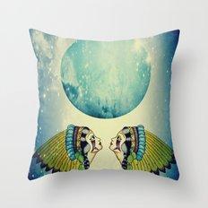 Planet Uranus Throw Pillow