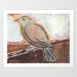 Eye on the Sparrow Art Print