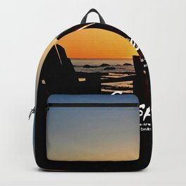 Chairs and Sunset, revisited Backpack