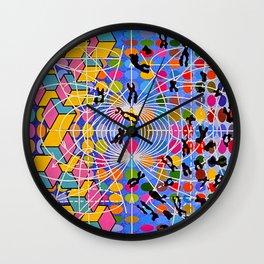Simstim Wall Clock