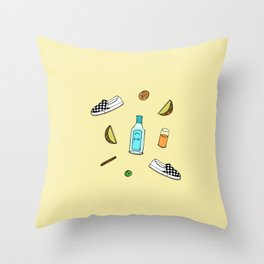 drew barrymore Throw Pillow