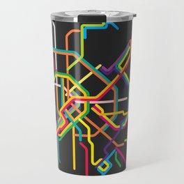 budapest metro map Travel Mug