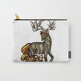 Spirited Deer Carry-All Pouch