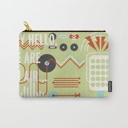 Geometric Music II Carry-All Pouch