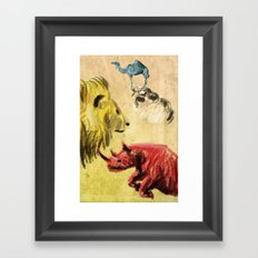 A Far Away Land Framed Art Print