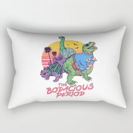 The Bodacious Period Rectangular Pillow