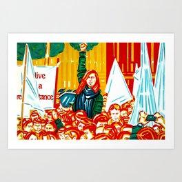 """Resistance"" Art Print"