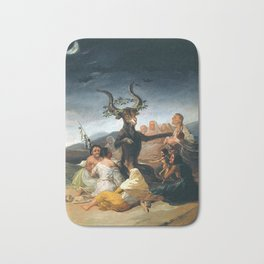 THE SABBATH OF THE WITCHES - GOYA Bath Mat