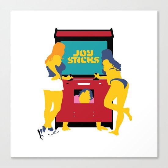 Joy Sticks Canvas Print