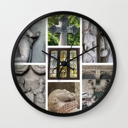Old Holy Trinity Church Wentworth Collage Wall Clock