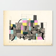 - architecture#01 - Canvas Print
