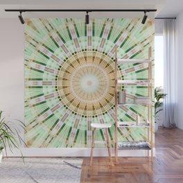 Mandala lightgreen 1 Wall Mural