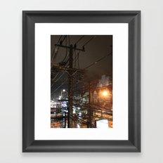 Cables I Framed Art Print