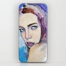 Profile in Purple Acrylic iPhone & iPod Skin