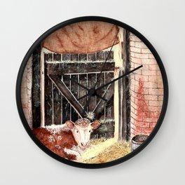 Stable Door Inside Wall Clock