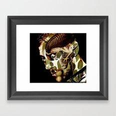 D._IN DER ZWISCHENZEIT_ Framed Art Print