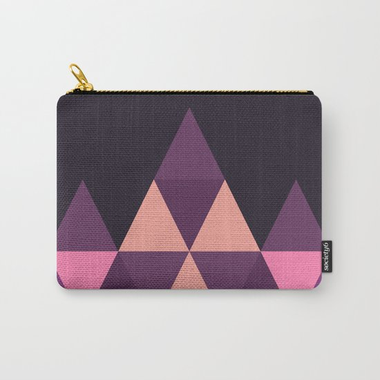 Geometric Pyramid Carry-All Pouch