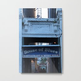 Hall of House of Blues Metal Print