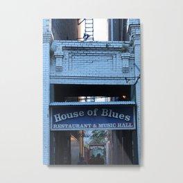 Hall of House of Blues Metal Print