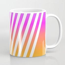 abstract lines mockup oblique Coffee Mug