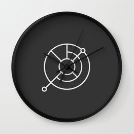 BAD NEWS MARK Wall Clock