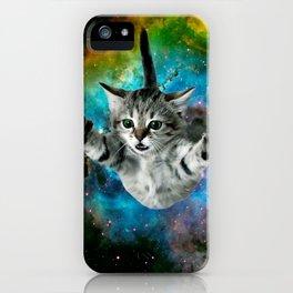 Galaxy Cat Universe Kitten Launch                                                 iPhone Case