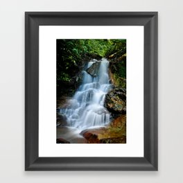 Thai Waterfall Framed Art Print